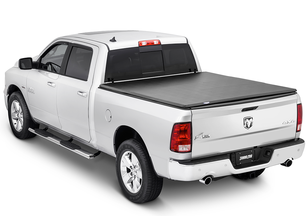 Ram 1500 Bed Cover >> 2002 - 2018 Dodge Ram Tonno Pro Tri-Fold Tonneau Cover-matsandcovers.com