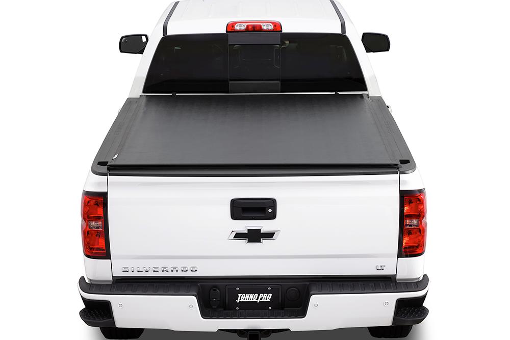2014 2018 Chevrolet Silverado Tonno Pro Lo Roll Roll Up Tonneau Cover Matsandcovers Com